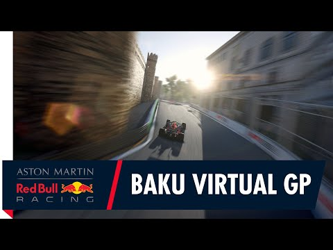 Baku F1 Virtual Grand Prix Highlights as Alex Albon takes P2