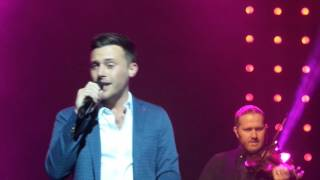 Nathan Carter Live in Edinburgh - End of Can't Stop Loving You (Mankini Gets Thrown On Stage)