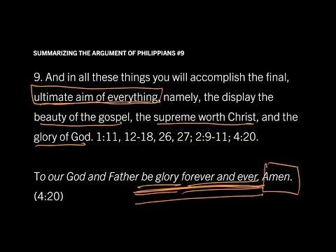 Philippians 1–4 // Summary of Philippians in Nine Steps