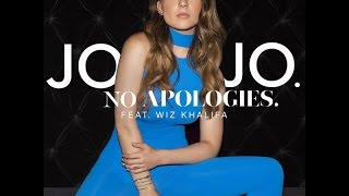No Apologies (feat. Wiz Khalifa) (Clean Radio Edit) - JoJo