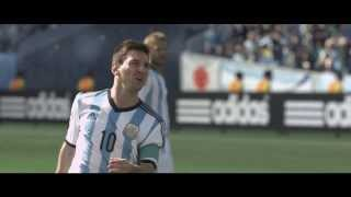 I am brazuca. Match ball of the 2014 FIFA World Cup™ -- adidas Football