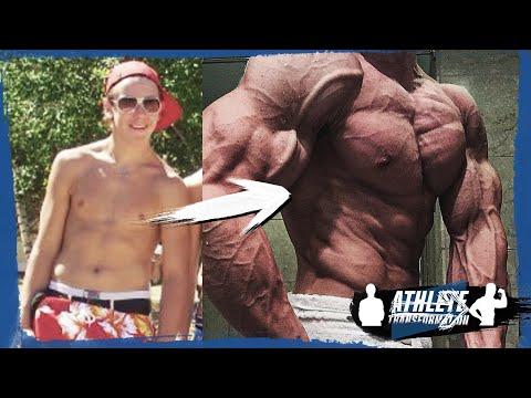 SMALL TO BODYBUILDER - ATHLETE TRANSFORMATION: LINUS CARLÉN