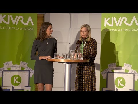 Anna Bäck - Kivras digitaliseringsmöte 2019