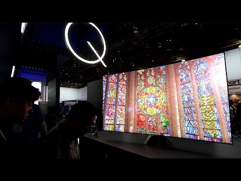 "The ""QLED"" 4K TV Is Samsung's Next-Evolution Display - CES 2017"