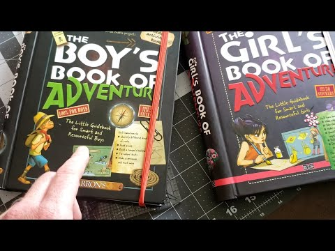 Boy's and Girls Book of Adventure is a great Children's Book for the Young Prepper.