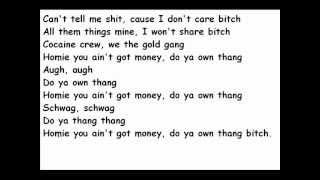 Honey Cocaine- Yo Own Thang
