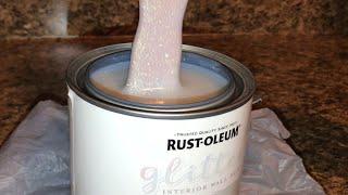 Rustoleum irradescent Glitter Wall Paint!!!!