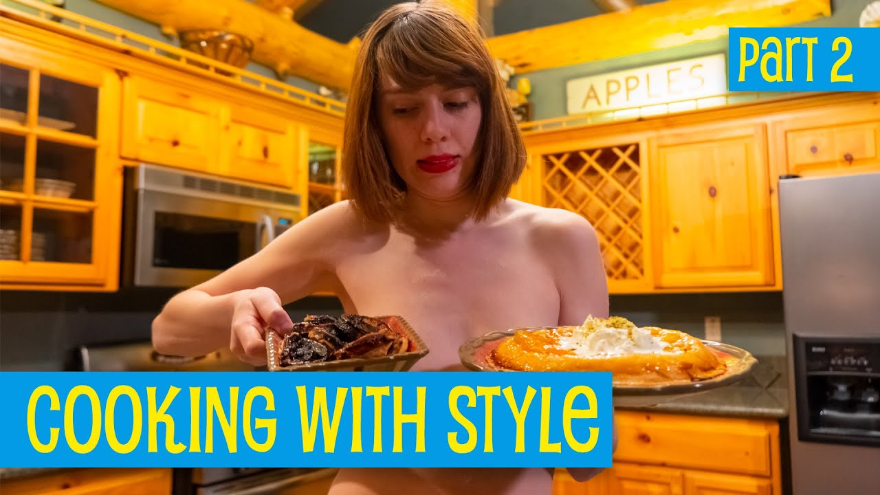 Making Upside-Down Apricot Tart, Part 2 • Cooking with Style