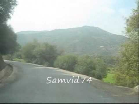 Montagnes Lakhdaria (ex palestro), Route Barage Maala, Algerie