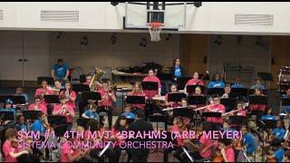 05/2016 - Symphony #1, 4th mvt -  Brahms -  Sistema CYO