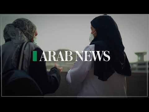 Dr. Alya Issam, a health worker volunteer in Hajj 2021