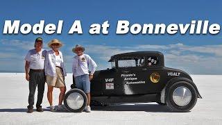 Bonneville Salt Flats 2011 Model A  running Torco Racing Oil