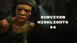 Dead By Daylight | Survivor Highlights #4