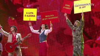 Homens Da Luta - Luta É Alegria (Portugal) - Live - 2011 Eurovision Song Contest 1st Semi Final