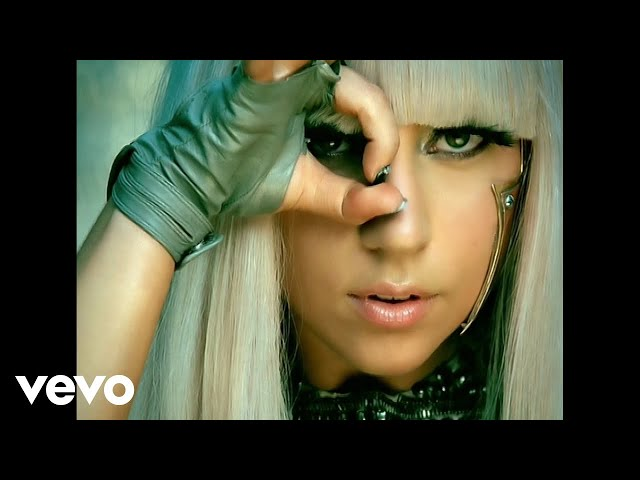 Video oficial de Poker Face de Lady Gaga