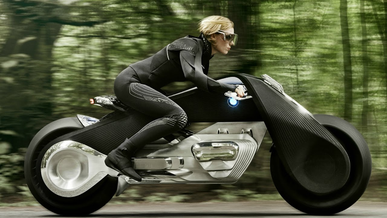 BMW Motorrad Vision Next 100 - Bike Of The Future