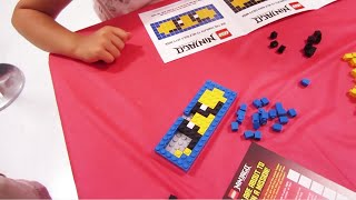 "Toys""R""US Free LEGO Ninjago Mask Build Event, Live 3/28/2015"