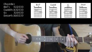 Beyonce – If I were a boy EASY Guitar Tutorial