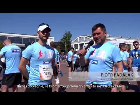 [RELACJA] Pracownicy JYSK na charytatywnym biegu Wings for Life World Run