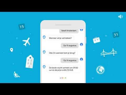 Vind KLM vluchten op de Google Assistent