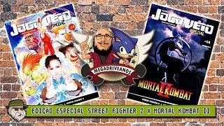 Street Fighter 2 X Mortal Kombat II - Mega Drive