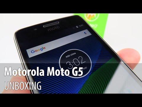 Motorola Moto G5 Unboxing în Limba Română