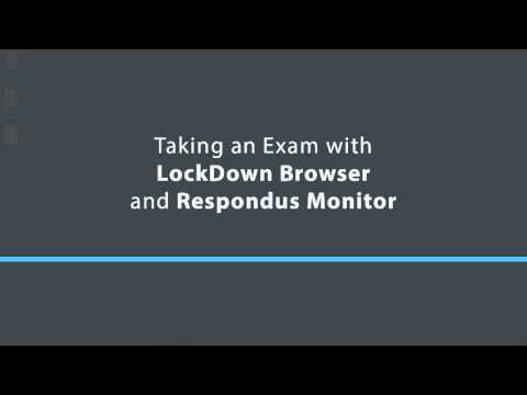 Preparing an Exam for Use with LockDown Browser and Respondus Monitor