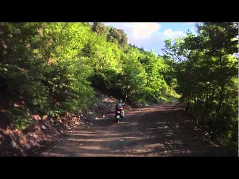 Africa Twin Rides Agrafa, Virgin Cave Monastery