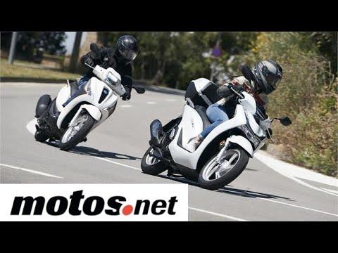 Comparativo Honda SH 125i vs Piaggio Medley 125 i-get 2020 | Prueba / Test / Review en español