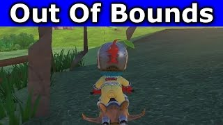 Mario Kart 8 - Moo Moo Meadows Out Of Bounds