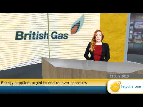 Energy suppliers urged to end rollover contracts