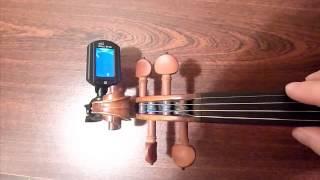 Mini ENO ET-33 Digital Tuner for Guitar/Bass/Violin - Example video - Tmart.com