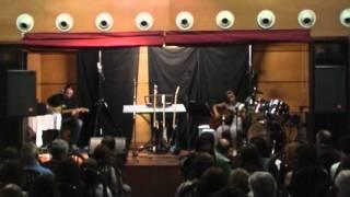 Beatriz García interpretando un tema tradicional escocés