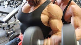 Muscle Motivation...  ft Stanimal  a Gold's Gym Venice