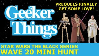 Star Wars The Black Series Wave 20 Mini Toy Hunt