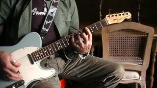 Great White Once bitten twice shy cover telecaster