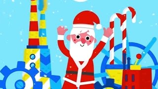 Toy factory Christmas game. Help Santa Build Cool Toys.