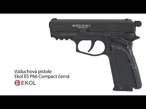 Vzduchová pistole Ekol ES P66 Compact černá