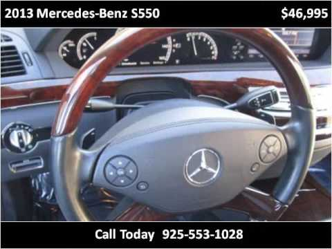 2013 Mercedes-Benz S550 Used Cars San Ramon CA