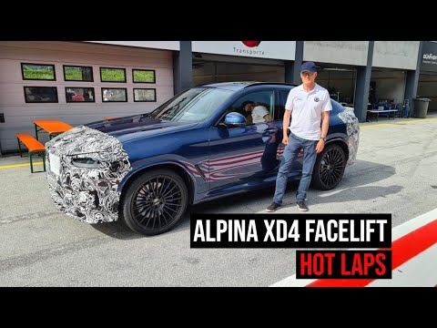 2021 ALPINA XD4 Facelift | On The Track