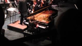 Helene Grimaud plays Brahms Piano Concerto #1