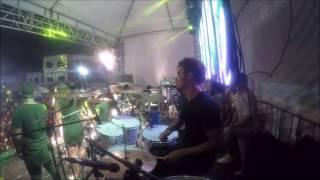 Frentista - Batera Lucian - Drum Cam (cover) - Aladin