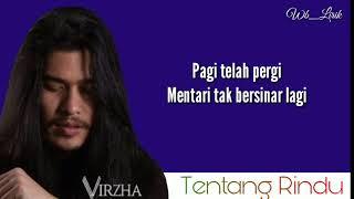 Virza - Tentang Rindu [Lyrics]