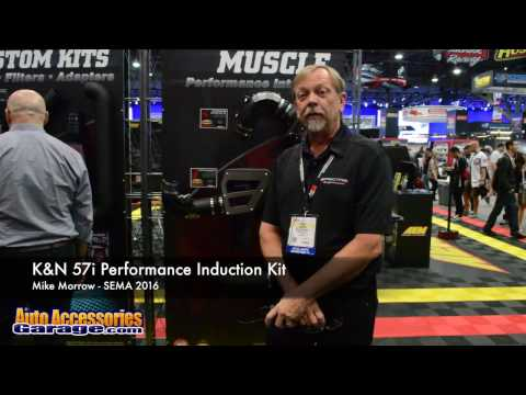 K&N 57i Performance Induction Kit with New Muscle Car Applications