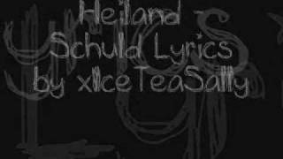 Heiland ~ Schuld (with Lyrics)