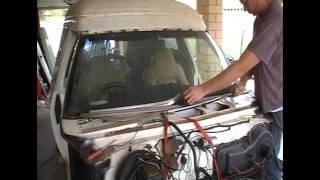 Panel Van rebuild Pt3