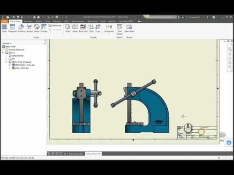 JVH presents Inventor Tip & Trick: Copy iProperties to Drawing