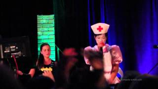 "Osric Chau raps ""When I'm Gone"" | ChiCon 2014 Karaoke Party"