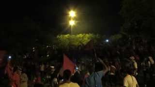 VIDEO AQUEL 19   CELEBRACION PARQUE DE LAS BANDERAS BARON ROJO SUR