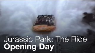 Jurassic Park: The Ride - Opening Day - Universal Studios Hollywood